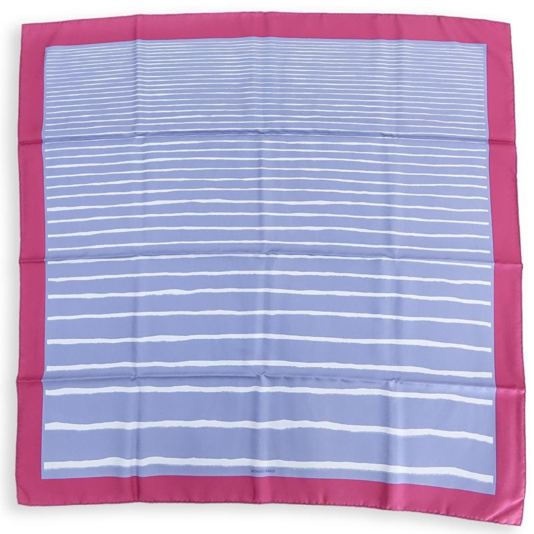 Hermes Gradient Stripe Twill Silk Scarf