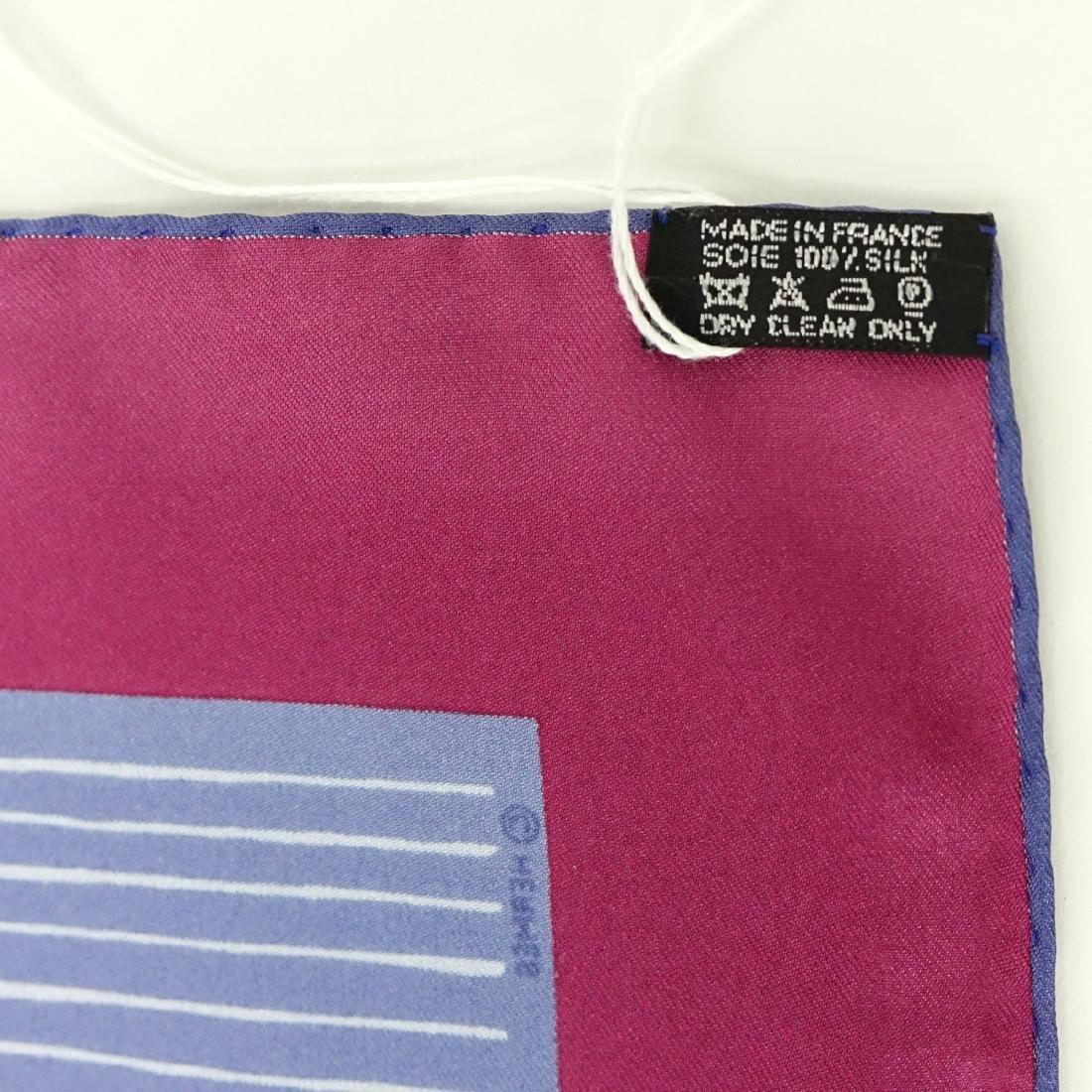 Hermes Gradient Stripe Twill Silk Scarf - 4