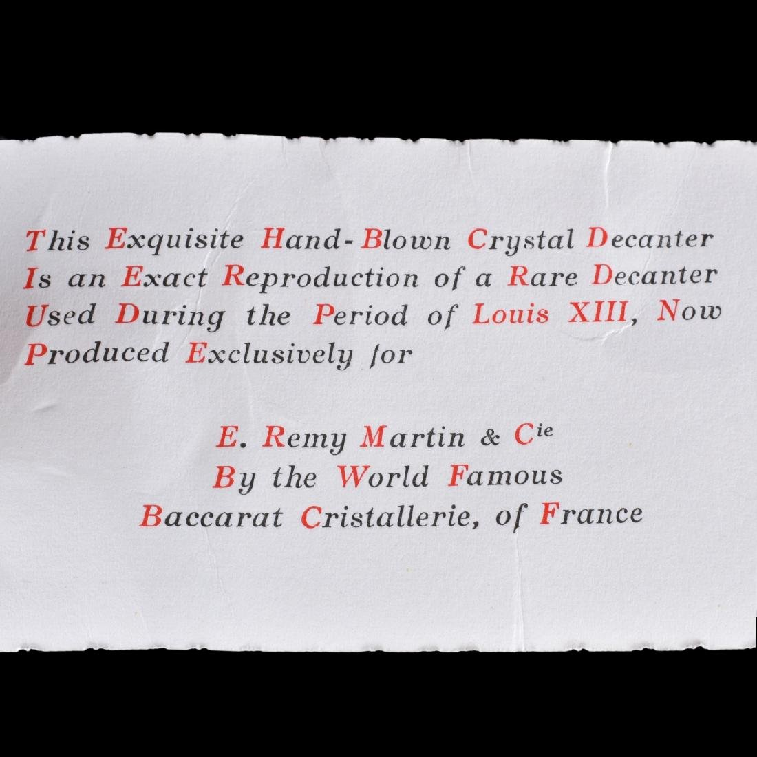 Remy Martin & Co. Cognac, Grand Champagne Bottle - 4