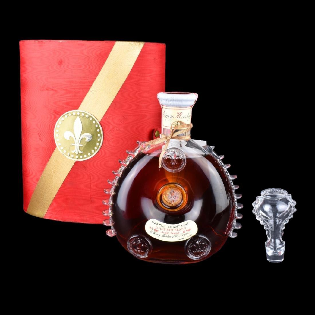 Remy Martin & Co. Cognac, Grand Champagne Bottle - 6