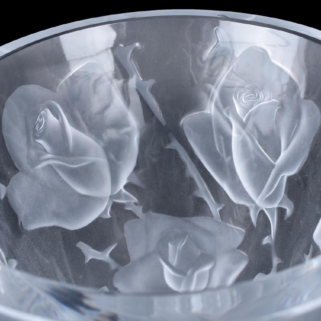 "Lalique Crystal ""Ispahan"" Vase - 2"