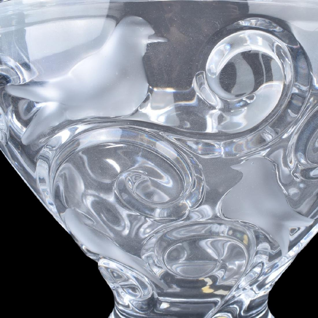 "Lalique Crystal ""Verone"" Bowl - 3"