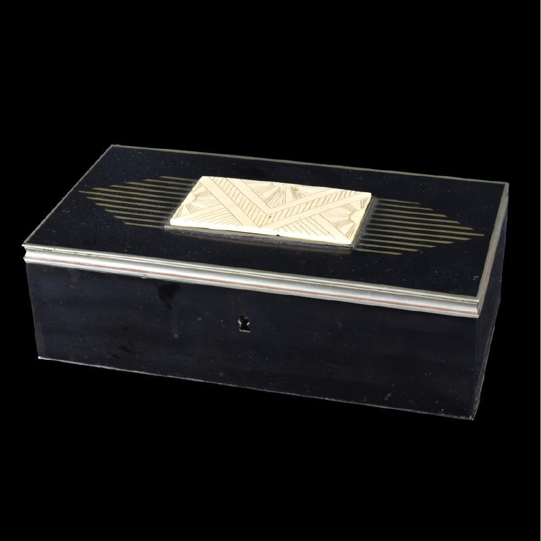 Vintage Art Deco Hinged Box