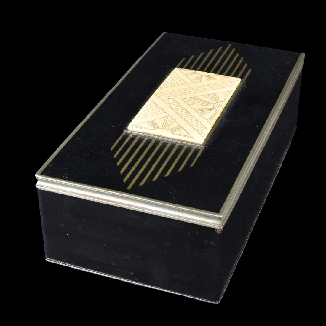 Vintage Art Deco Hinged Box - 2