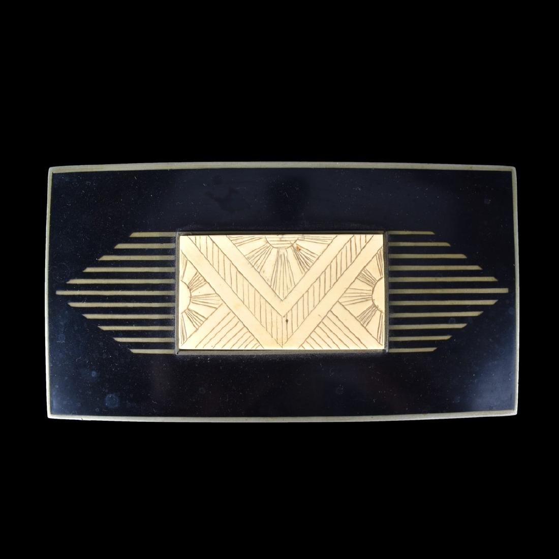 Vintage Art Deco Hinged Box - 4