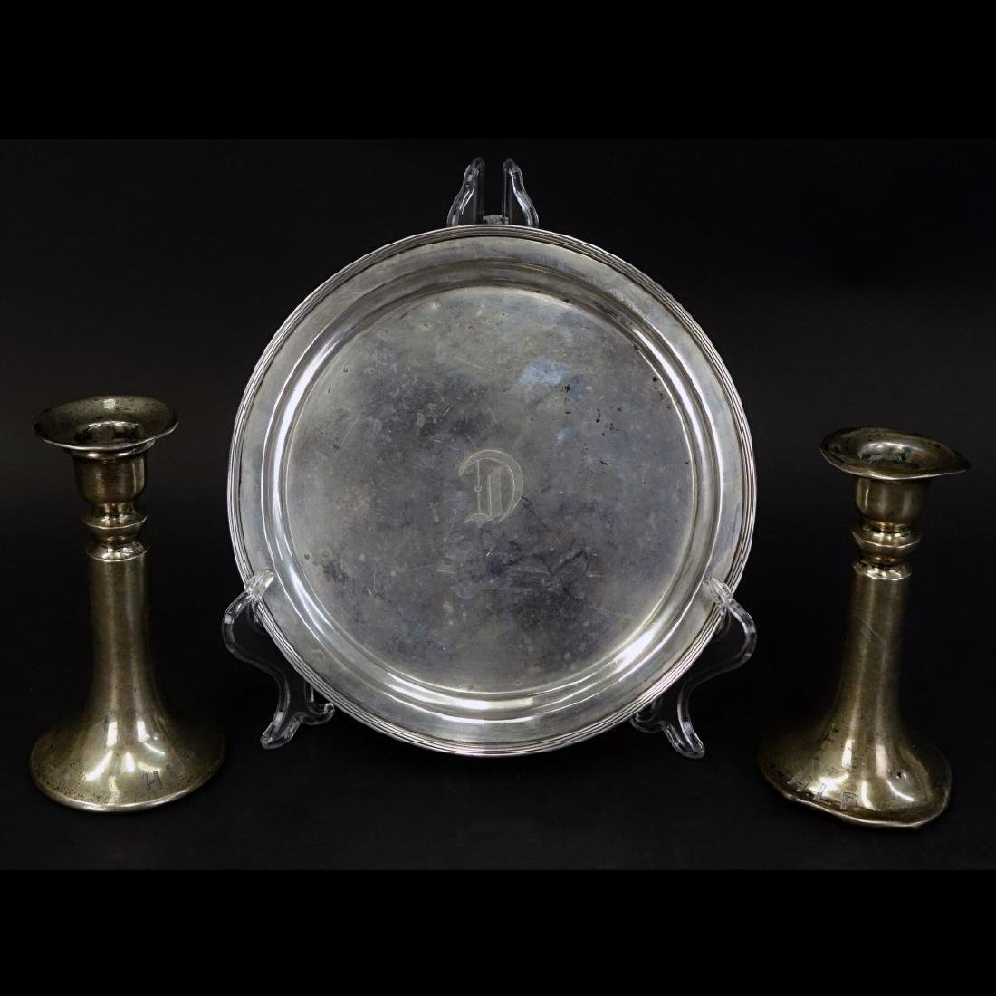 Grouping of Three (3) Sterling Silver Tableware