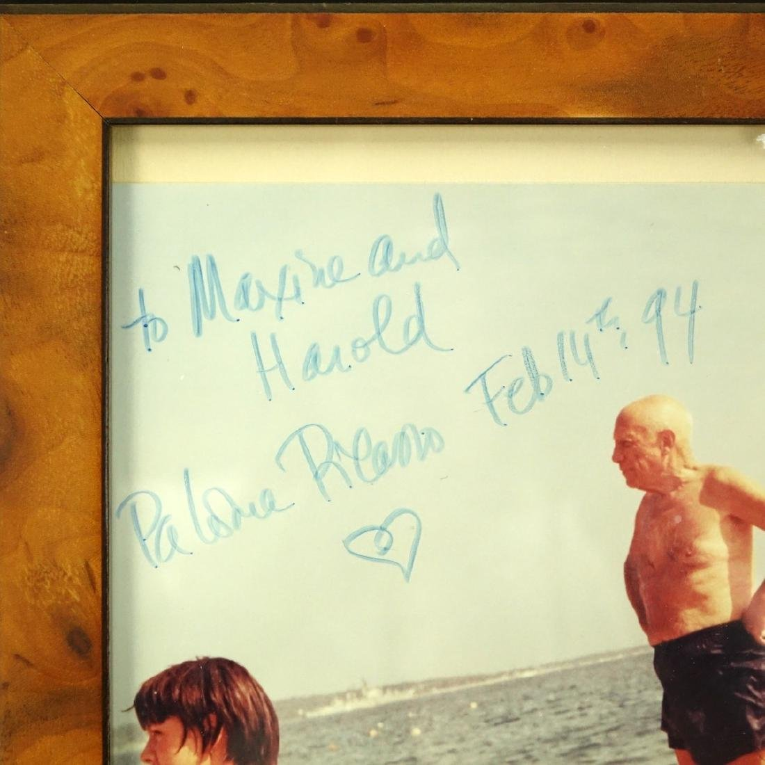 Photograph Of Picasso Signed By Paloma Picasso - 3