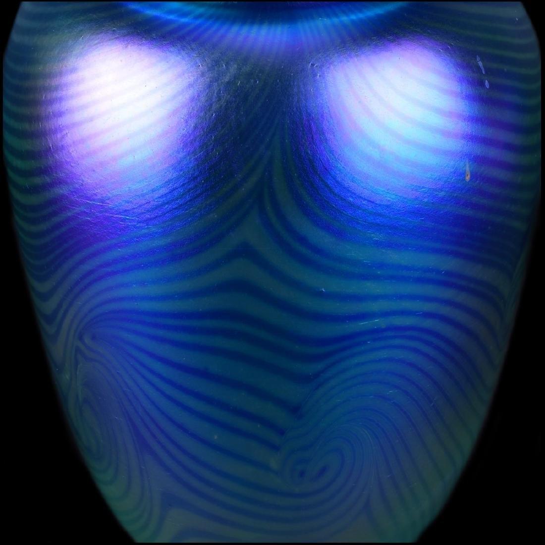 Three (3) Robert Eickholt Art Glass Vases - 3