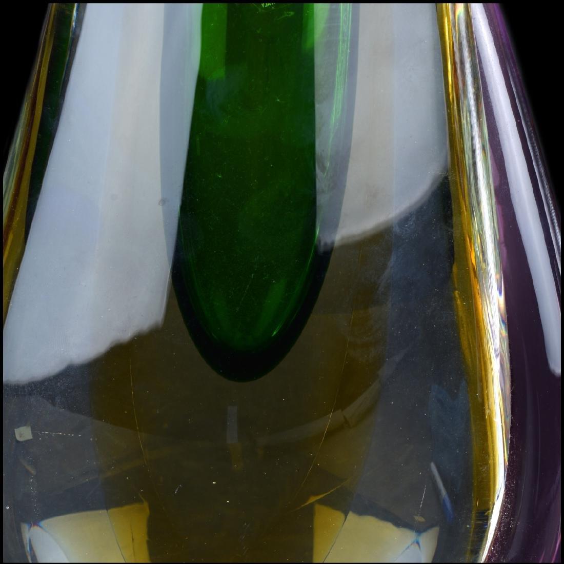 Formio Sommerso Art Glass Vase - 3