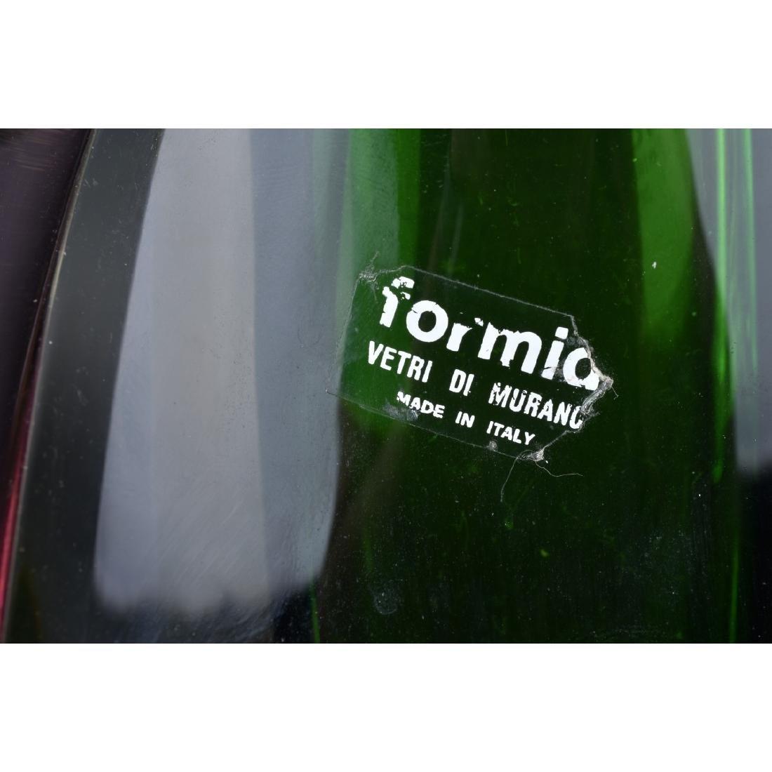 Formio Sommerso Art Glass Vase - 5
