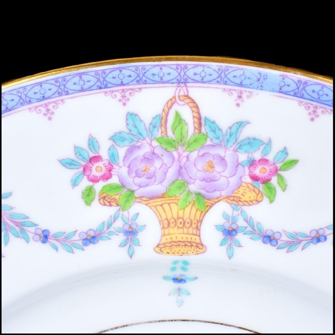 Set of Twelve (12) Minton English Porcelain Plates - 3