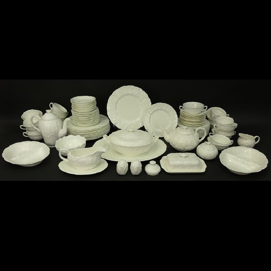 92 Piece Coalport White Countryware Dinner Service