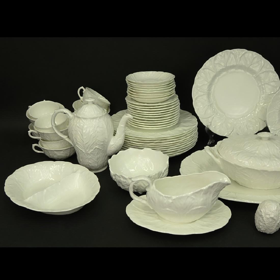 92 Piece Coalport White Countryware Dinner Service - 2