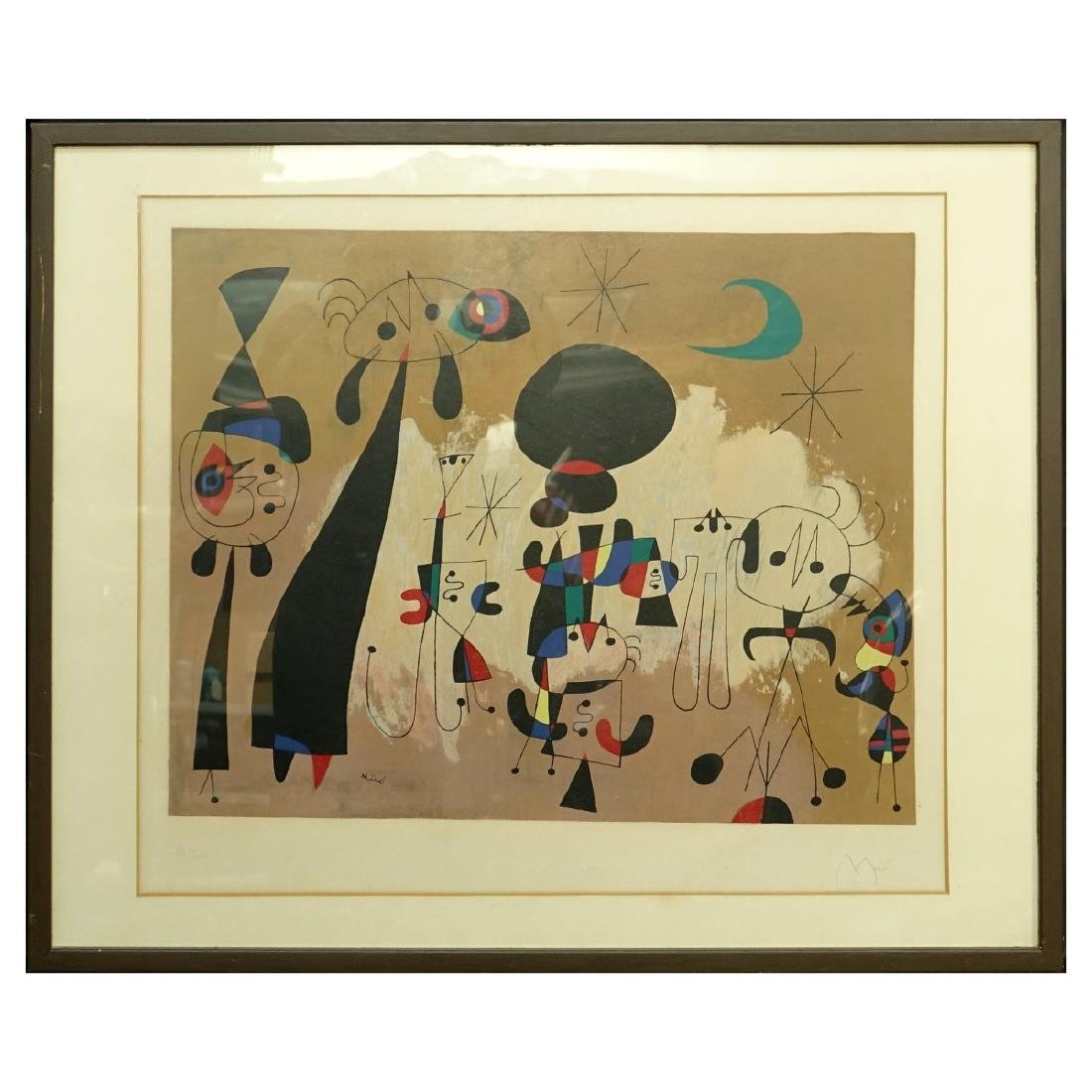 After: Joan Miro Color Lithograph - 2
