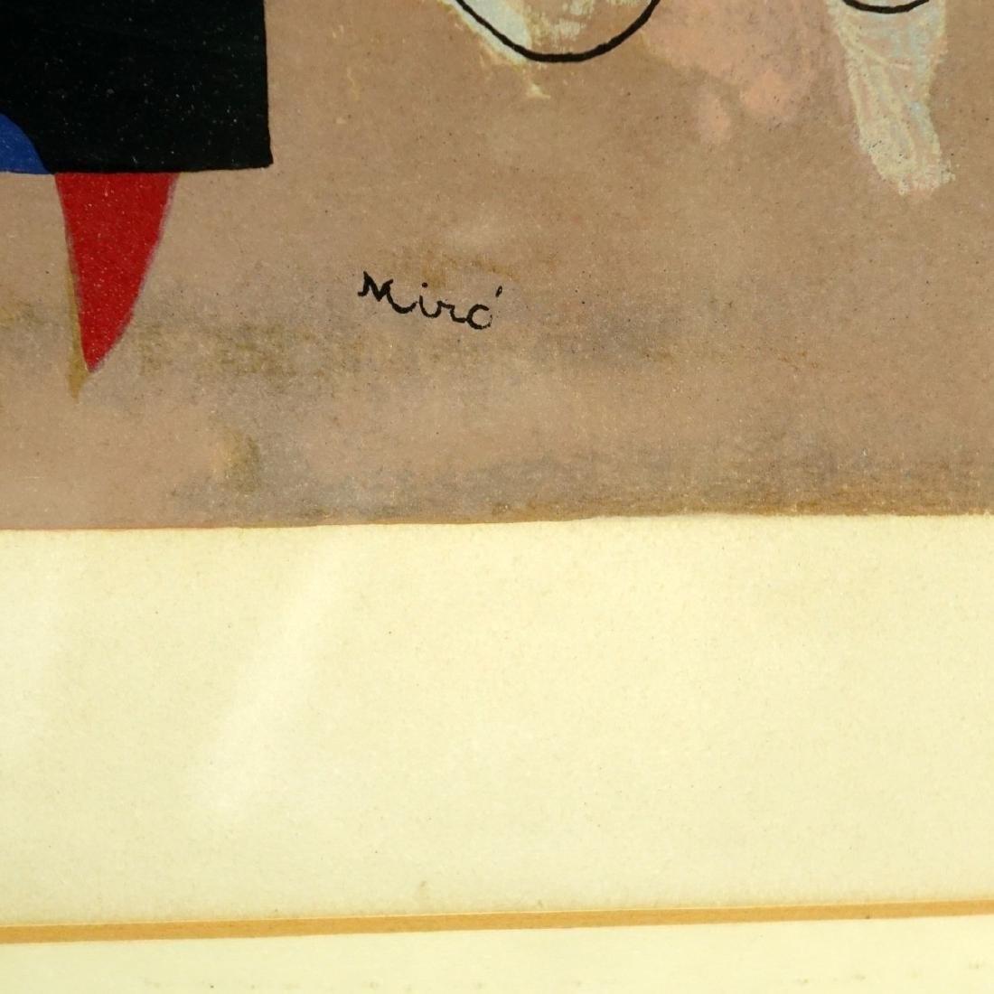 After: Joan Miro Color Lithograph - 3