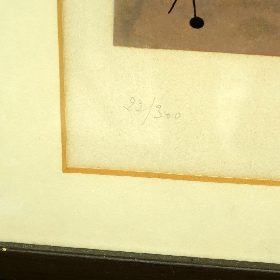 After: Joan Miro Color Lithograph - 4