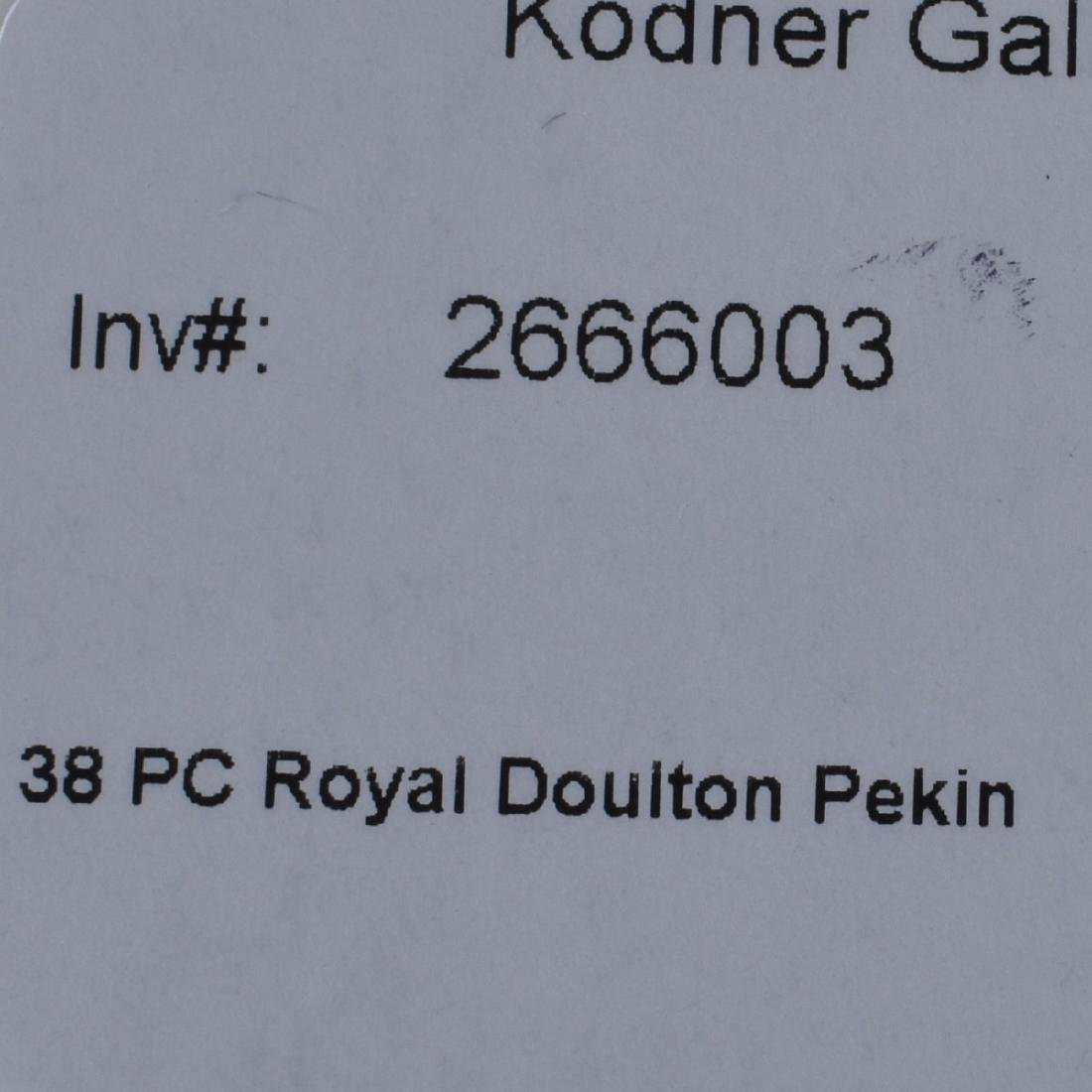 38 PC Royal Doulton Pekin - 7