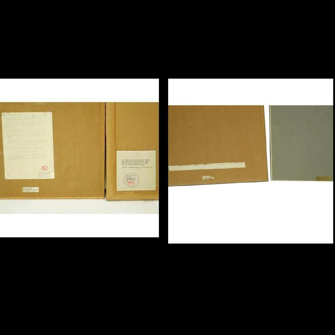 4 Japanese Woodblock Prints - 6