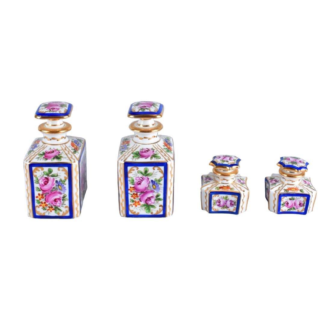 4 Sevres Perfume Bottles - 2
