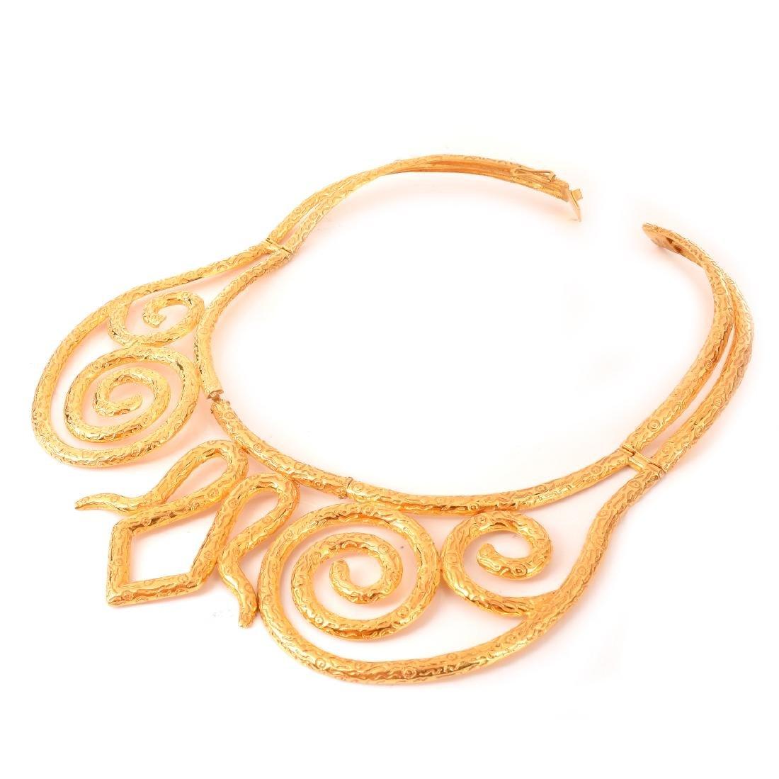 Vintage 22 Karat Yellow Gold Necklace