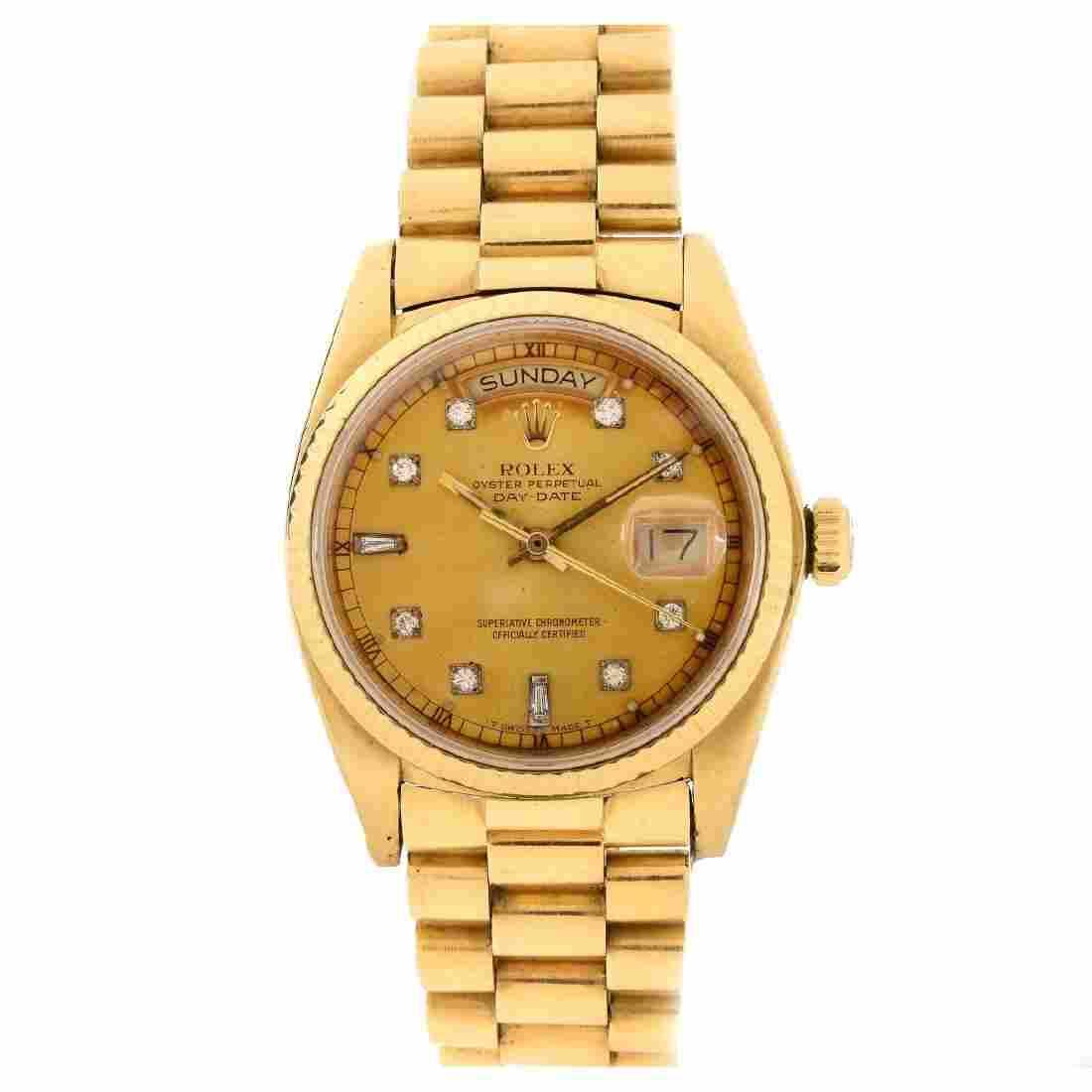 Man's Rolex 18K Watch