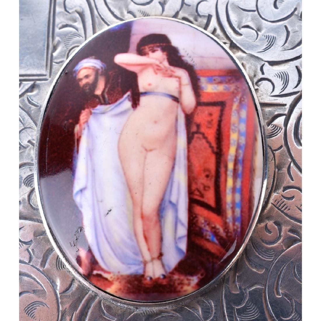 English Silver Cigarette Case - 2