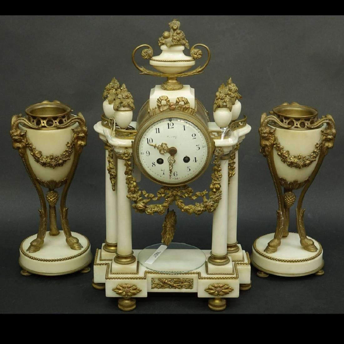 Antique French Garniture Set