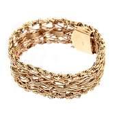 Vintage 14K Charm Bracelet