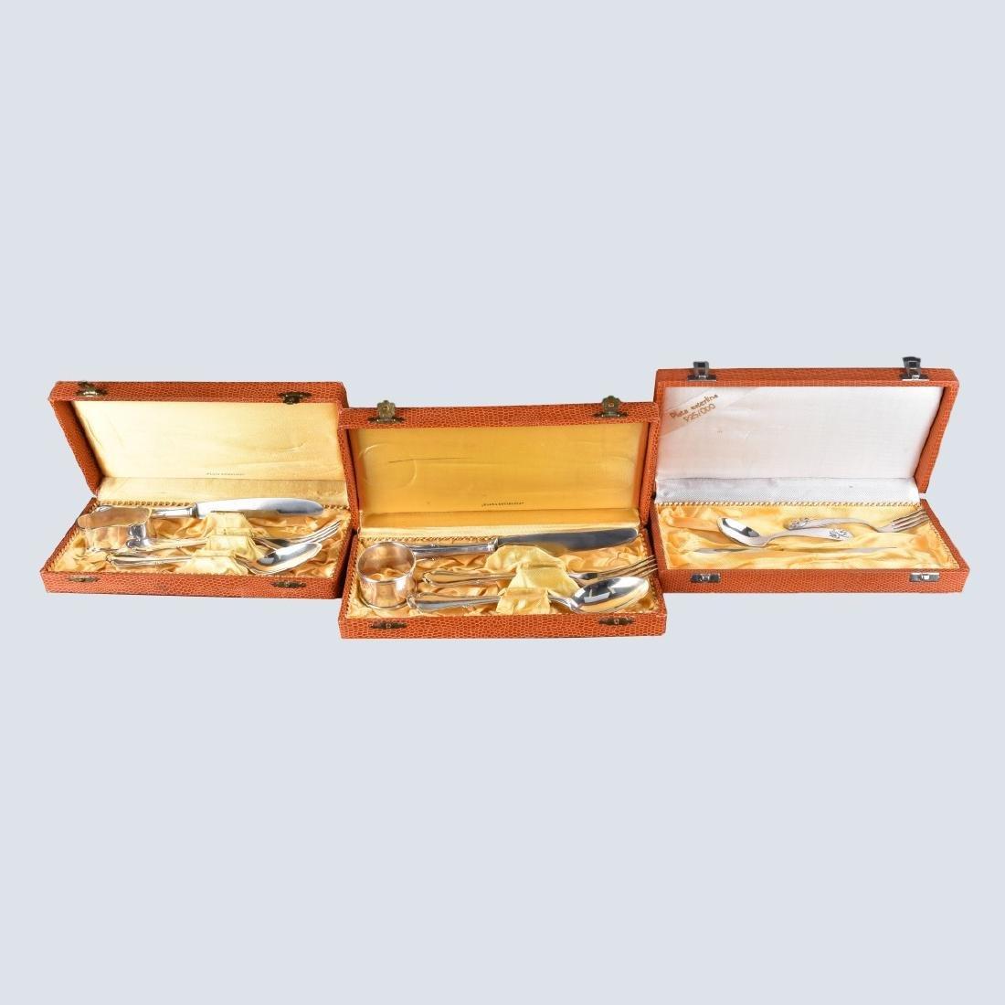Solingen Rostfrei Sterling Silver Sets