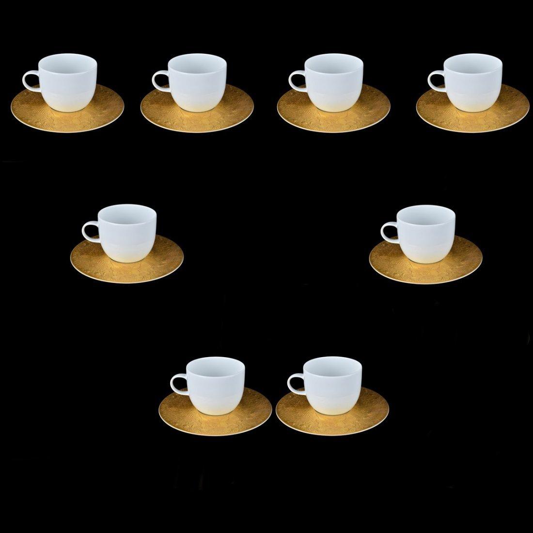 "Rosenthal ""Magic Flute Gold"" Cup/Saucer Set"