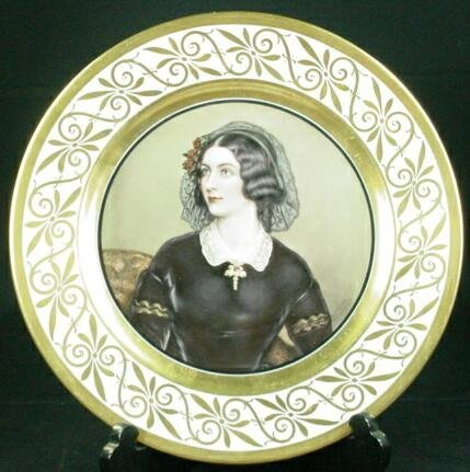 9: 1930 Unsigned Rosenthal Gilt Decorated Cabinet Plate