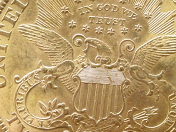 15: 1898-S 20 Dollar Double Eagle Gold Coin. Very Good  - 3