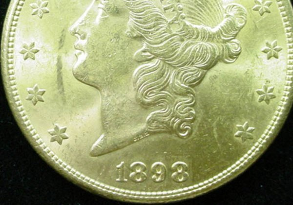 15: 1898-S 20 Dollar Double Eagle Gold Coin. Very Good  - 4
