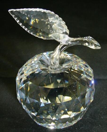 "505: Swarovski Crystal Apple from the ""Sparkling Fruit"""