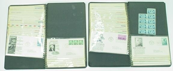 511: Two (2) Books Containing  101 First Day Covers Mou