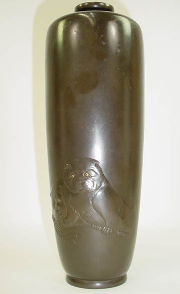 668: Late 19th Century Meji Period Japanese Niello Mixe