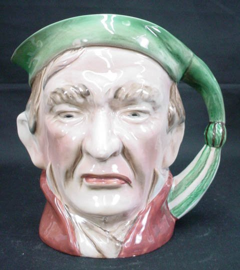 765: Beswick English Toby Jug Pitcher Scrooge #372 Sign