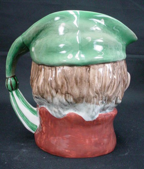 765: Beswick English Toby Jug Pitcher Scrooge #372 Sign - 3