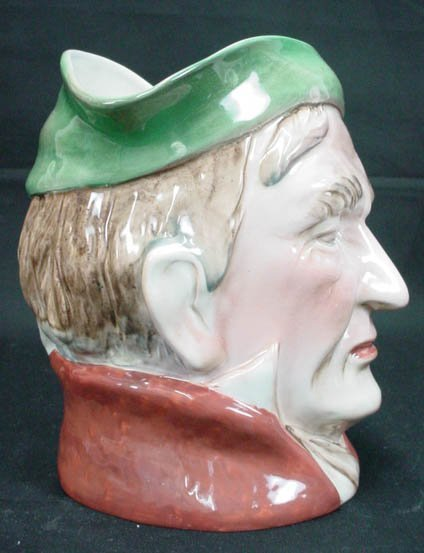 765: Beswick English Toby Jug Pitcher Scrooge #372 Sign - 4