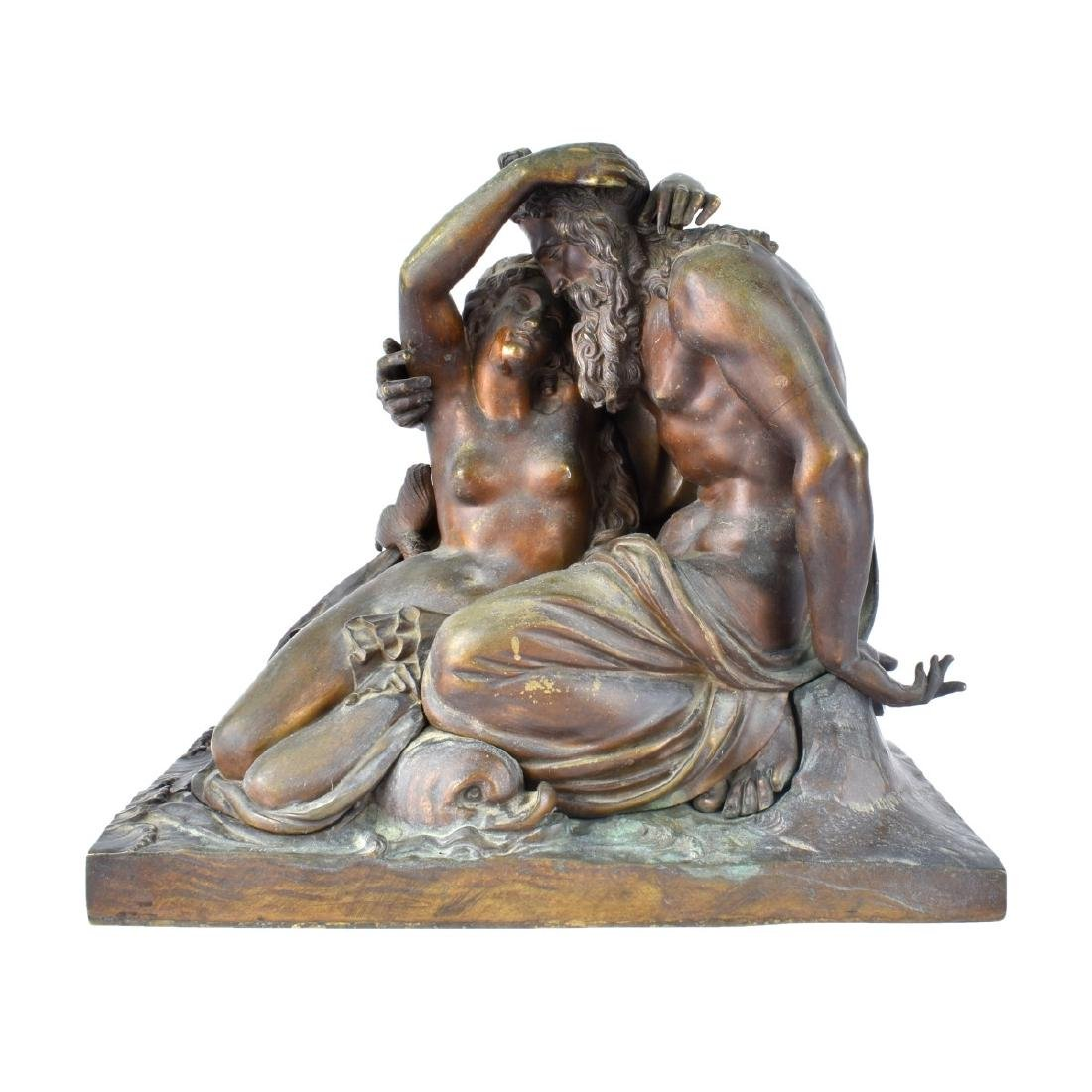 19th Century Neoclassical Bronze Sculpture