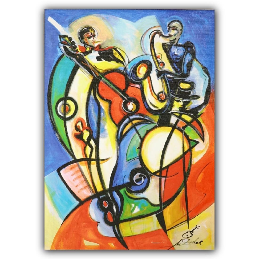 Alfred Gockel (b. 1958) Giclee on Canvas