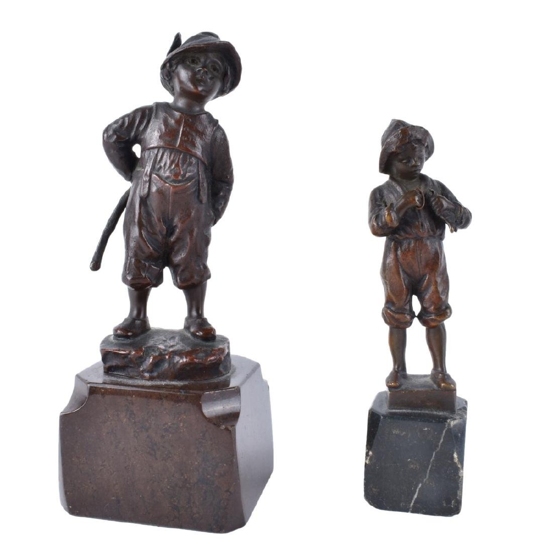 Two Schmidt-Felling Miniature Bronzes
