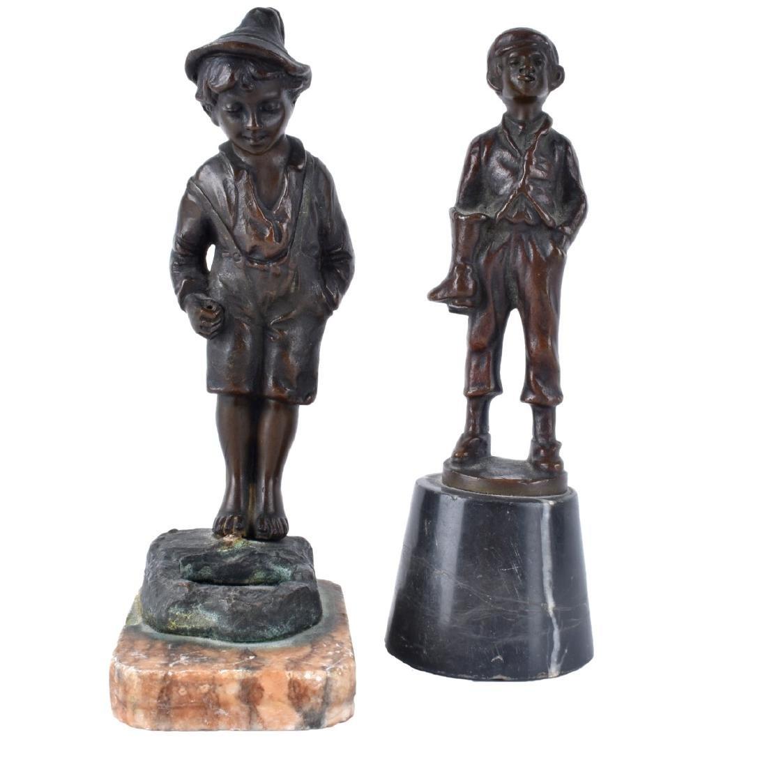 Two Miniature Bronzes