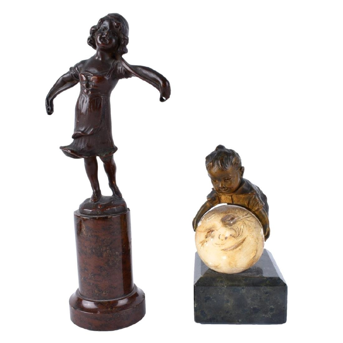 Two Miniature Bronzes