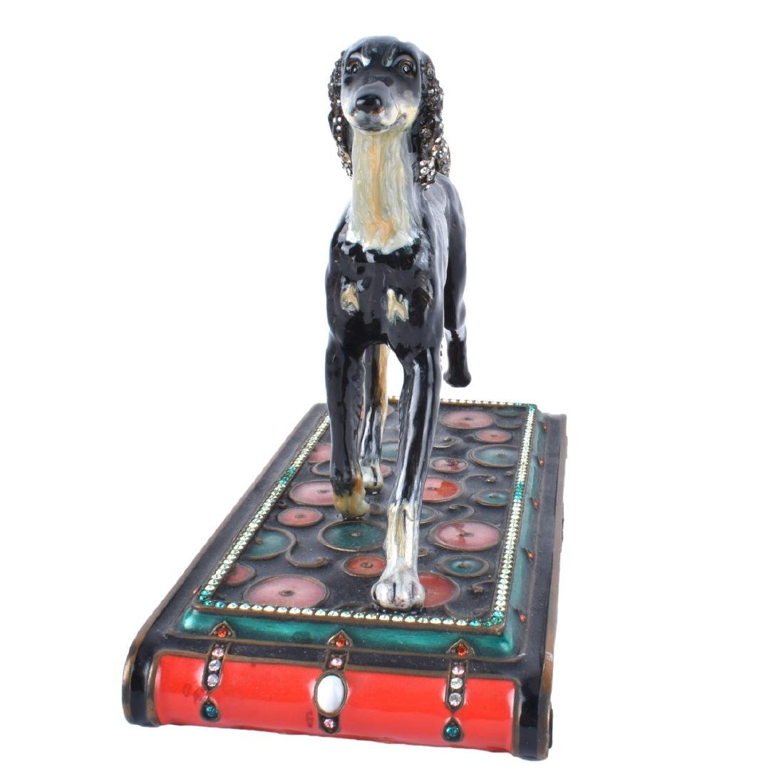 Jay Strongwater Saluki Dog Sculpture