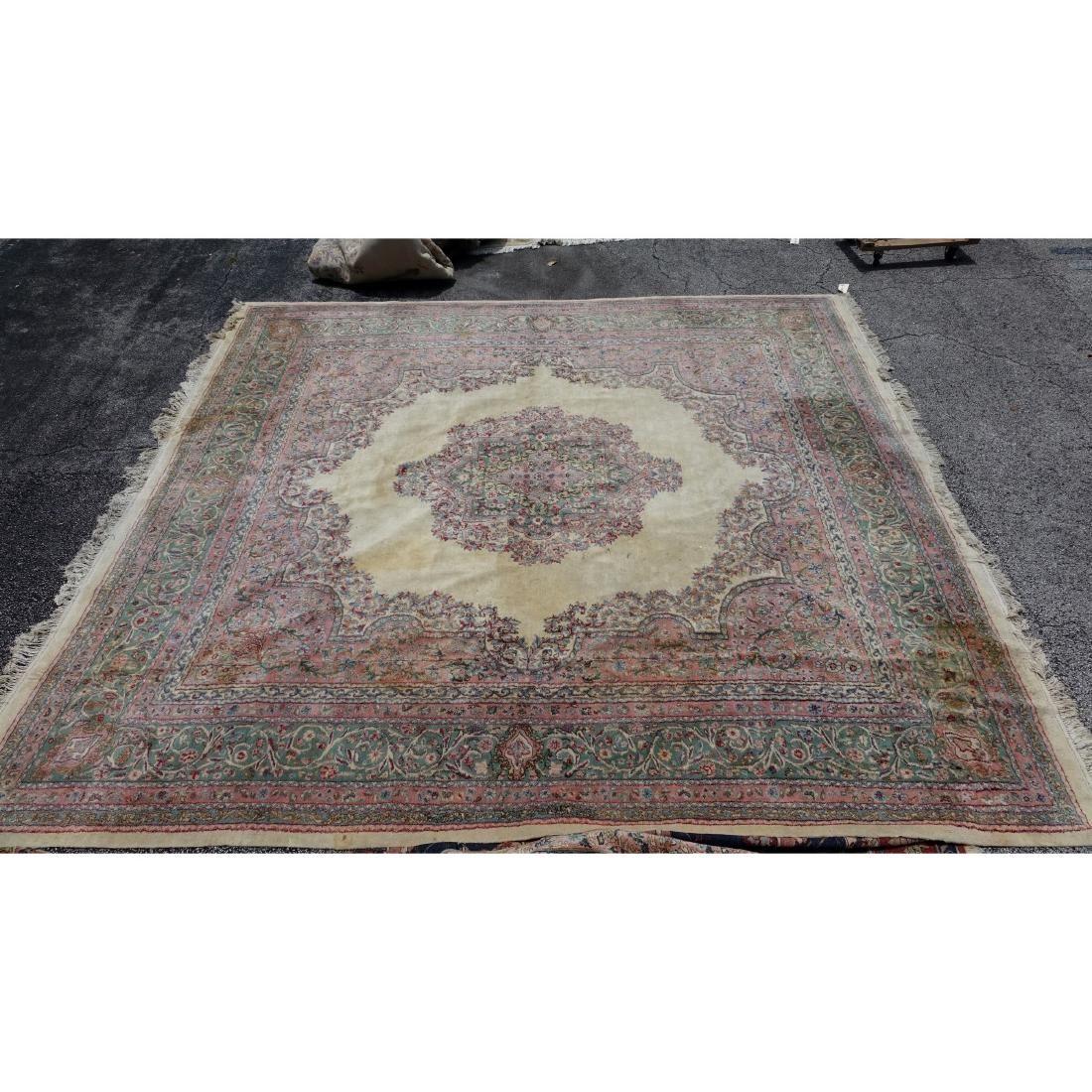 Semi Antique Kerman rug