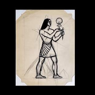 Dox Thrash, American (1893-1965) Graphite and ink