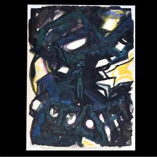 Dox Thrash, American (1893-1965) Watercolor