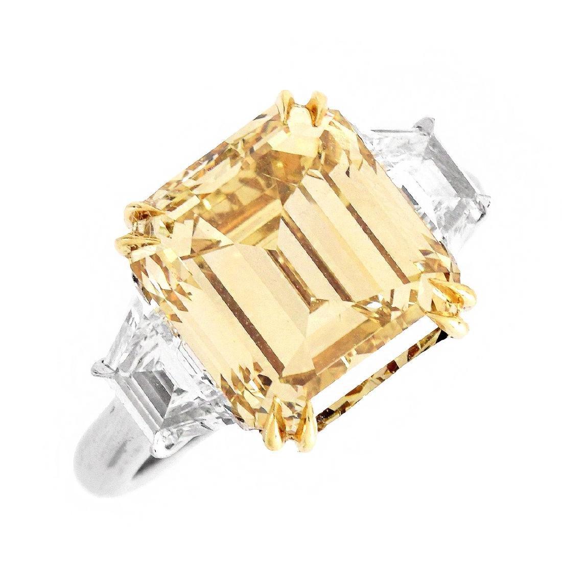 GIA 6.13ct Diamond Engagement Ring