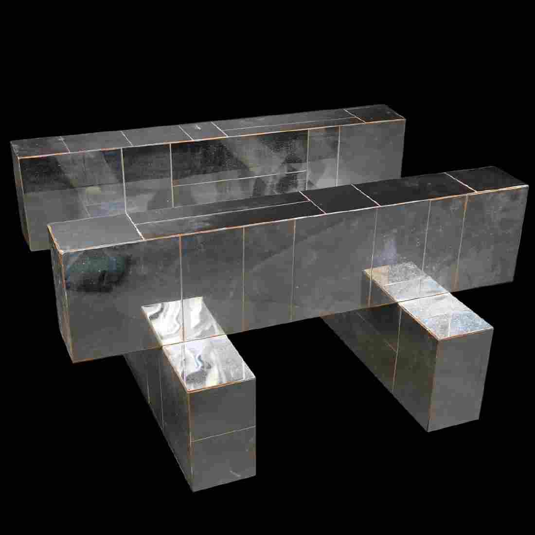 "Paul Evans ""Cityscape"" Patchwork Coffee Table"